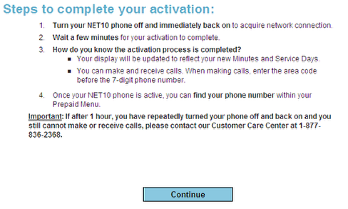 complete net10activationn