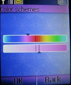 nokia 1661 color settings