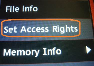 lg 800g app access rights