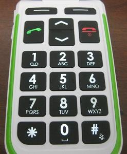 Doro 410 keypad
