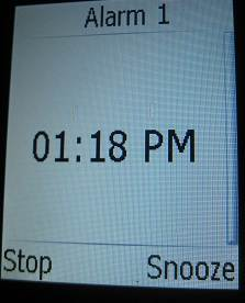 stop snooze options