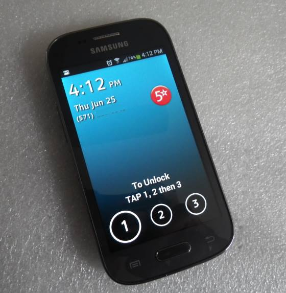greatcall touch3 smartphone