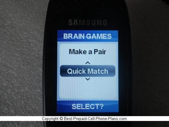 Brain games on Jitterbug Plus