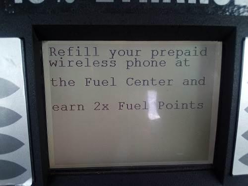 kroger fuel points for prepaid wireless refills