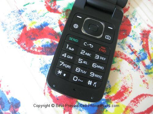 LG 420g keypad