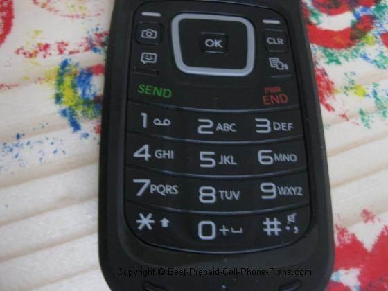LG 440g keypad