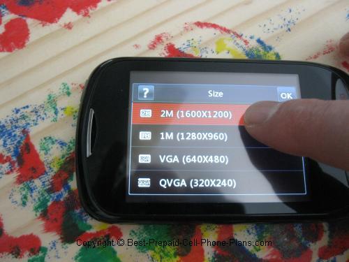 lg 900g camera resolution
