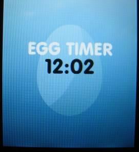 Java Egg Timer app