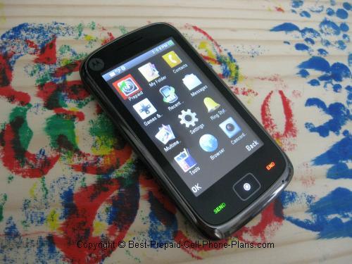 Moto EX124g touchscreen