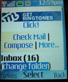 Nokia 2720 Email 5