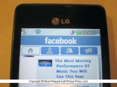 fb on lg 840g