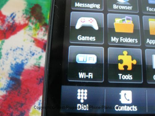T528g menu icons