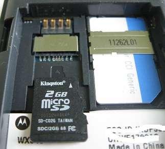 wx345 microsd memory card