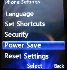 LG240g Power Save