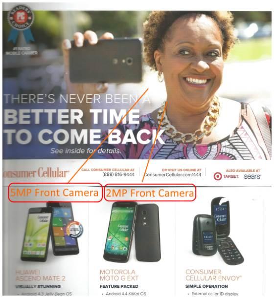 consumer cellular selfie ad
