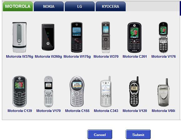 choose your phone