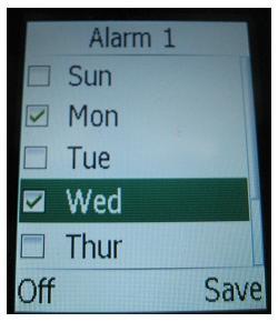 doro 410 alarm clock