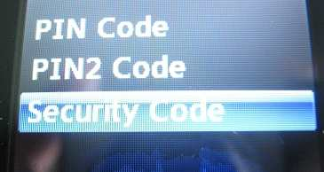LG 500g security code