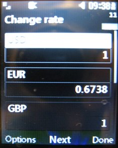 lg 420g change currency rate