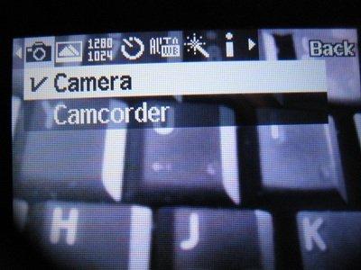 T401g Camera Camcorder option