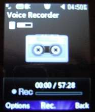 lg 420g voice recorder