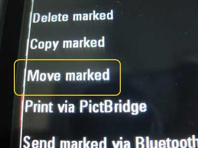 EX124g move marked photos
