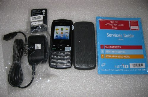 LG320G Cell Phone Package