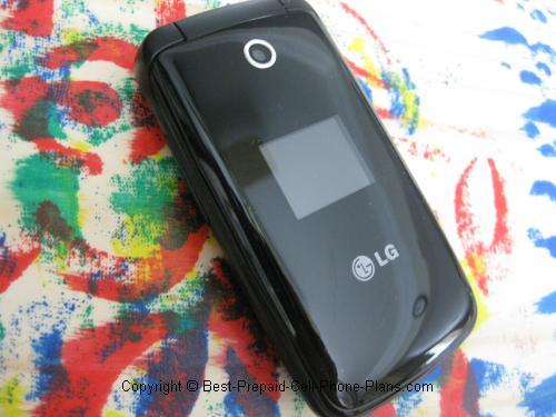 LG 420g camera lens external screen