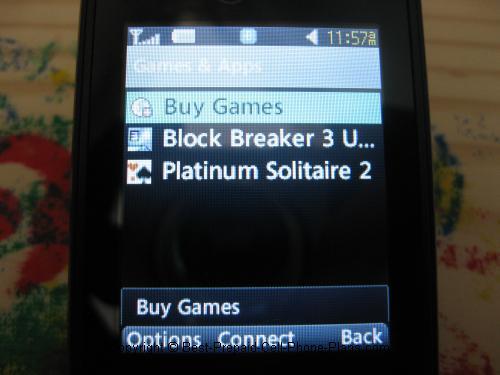 LG 430g games apps