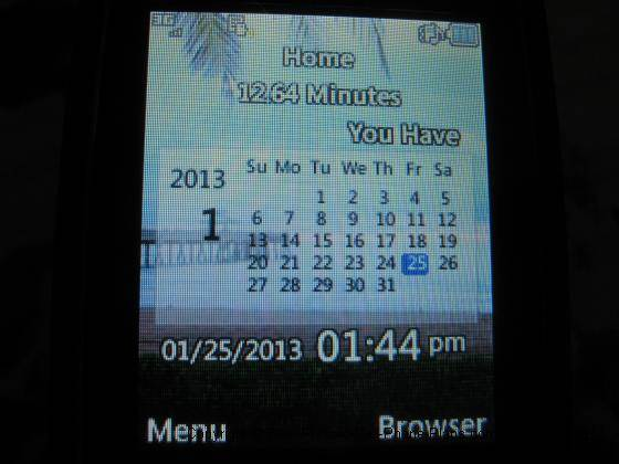 LG 440g screen