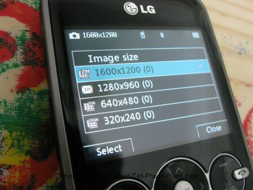 LG 900g camera resolution