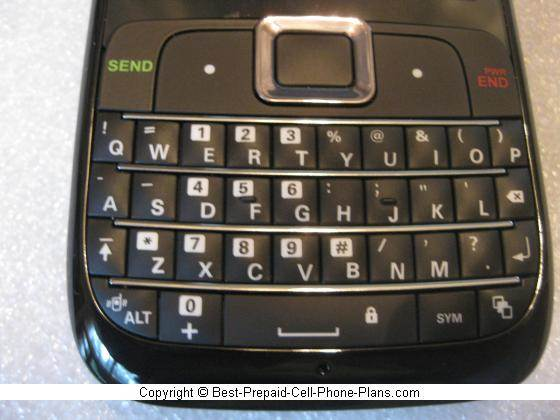 Motorola EX431g QWERTY keyboard