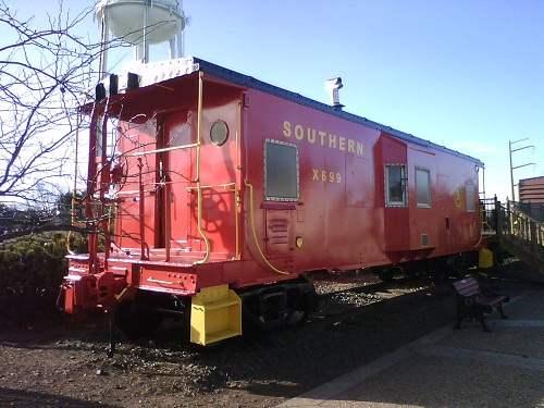 red train car photo taken with Motorola WX345