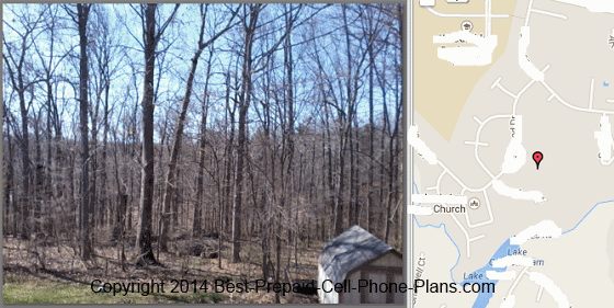 gps info mapped via Picasa