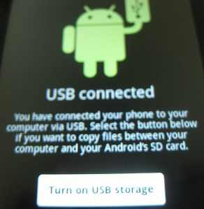 galaxy precedent enable usb storage