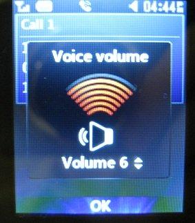 LG 420g call volume
